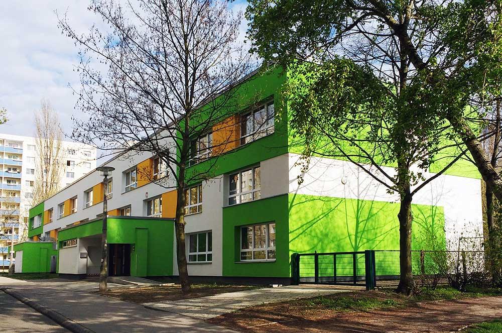 Kita Notenhopser in Berlin- Marzahn nach der Sanierung