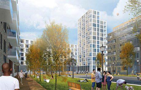 Wohnpark Herzberge in Berlin- Lichtenberg, Bauvoranfrage